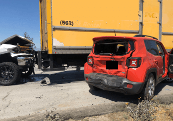 Total loss from commercial truck